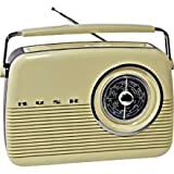 Bush TR82BLU Cream Radio