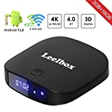[2018 Edition] TV Box Leelbox Q2 pro Android 7.1 2GB+16GB Dual-WIFI 2.4GHz/5GHz with BT 4.0 Supporting 4K (60Hz) Full HD Smart TV Box