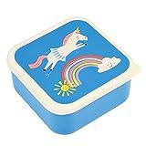 Rex International 27997–Set of 3lunch boxes Unicorn