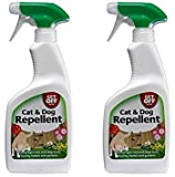 2 x Get Off Cat & Dog Repellent Spray Anti Fouling For Indoor & Outdoor Use Carpet