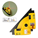 Peerless Vertical Horizontal Laser Line Projection Square Level Right Angle 90 Degree Alignment Guide Tool