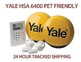Yale HSA 6400 Premium PET FRIENDLY Telecommunicating Alarm System Wireless Wirefree