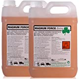 Magnum Force Pressure Washer Traffic Film Remover. Highly concentrated professional alkaline pressure washer additive, used at 0.8% dilution at the nozzle 10 Litres - Comes With TCH Anti-Bacterial Pen!