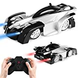 Wall Climbing Climber Car, Mini Remote Control Rocket Toy RC Electric Racer Vehicle, Perfect for Kids Boys Children Teens Black