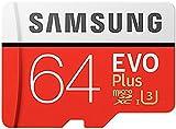 Samsung Mobile UK 64 GB 100 MB/s Class 10 U3 Memory Evo Plus MicroSD card with Adapter