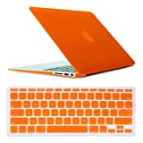 HDE Macbook Air 11' Case Hard Shell Matte Cover Keyboard Skin Model A1370/A1465