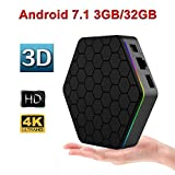 T95Z PLUS Android 7.1 tv box with 3G RAM 32G ROM Octa-core 64 Bits Support Dual Band 2.4G/5G Wifi 4K Ultra HD BT 4.0