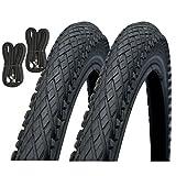 Impac Crosspac 700 x 38c Hybrid Bike Tyres with Presta Inner Tubes - Pair
