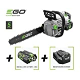 EGO CHAINSAW 56V CORDLESS RECHARGABLE 14 ' CS1400E + BATTERY & CHARGER