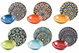 Villa d'Este Home Tableware 18 Pieces Marrakech.
