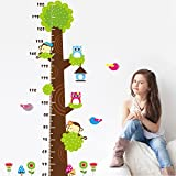 Kids Height Measure Tree DIY Removable Art Vinyl Quote Wall Sticker Decal Mural Home Room D¨¦cor Kids Room Decoration