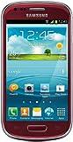 Samsung Galaxy S3 Mini Garnet Red Smartphone Sim Free