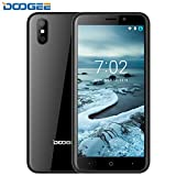 Mobile Phones Cheap, DOOGEE X50 SIM Free Mobile Phones, 8.1 Android Phone - 5 Inch IPS Display - MT6580M 4x Cortex - 1GB RAM + 8GB ROM - 5MP Rear Camera - 2000mAh Battery - 3G Unlocked Smartphones - Black