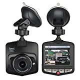 lexi 1080P Dash Camera with 2.4' Display, Wide Angle Lens, Loop Recording, Motion Detection, Parking Monitor and G Sensor,