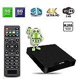 [Android 7.1 TV Box] GroGoo VV95 Smart TV Box Amlogic S905W Chipset 1GB+8GB 4K Ultra HD Support H.265 Video Decoder 2.4GHz Wifi