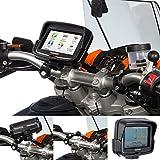 UltimateAddons Motorcycle M6 Handlebar Clamp Bolt Mount with Dedicated Holder for Tomtom Rider v5