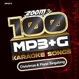 Zoom Karaoke MP3+G Disc - 100 Songs - Christmas & Piano Singalong