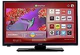 Hitachi 24HYJ45U 24 Inch HD Ready LED DVD Combi Smart TV – Black