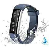 Lintelek Activity Tracker, Fitness Watch with Activity Recording and Calorie Counter, Pedometer Wristband, Sleep Monitor Sedentary Reminder Smart Bracelet for Men, Women and Kids.