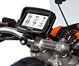 Ultimateaddons Motorcycle M8 Handlebar Clamp Bolt Mount with Dedicated Holder for Tomtom Rider v5