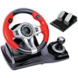 Logic3 PXU450 TopDrive GT450 Multiformat Steering Wheel for PS3, PS4, XBox One and PC Gaming Accessories / iCHOOSE