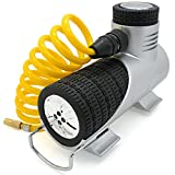 Compact-Pro Tyre Inflator 12v Electric Air Tool Car Tyre Pump - Compressor For Car Tyres FREE Bonus Carry Case