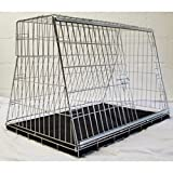 36' CAR DOG CAGE CARRIER GUARD PUPPY CRATE DESIGNED FOR HATCHBACK & ESTATE CARS