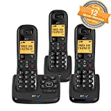 BT XD56 Trio Cordless Phones with Answering Machine and Nuisance Call Blocker