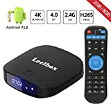 TV Box 2018 Newest Leelbox Q2 mini 3D TV box Android 7.1 2GB+8GB with BT 4.0 Supporting 4K (60Hz) Full HD/H.265/WiFi Smart TV Box