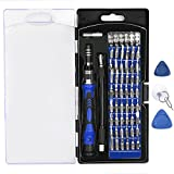 VOXON 58 in 1 Magnetic Screwdriver Set, Precision Magnetic Screwdriver Set with 54 Driver Bits, computer repair tool kit,for iPhone, Tablet, Macbook, Xbox, Cellphone, PC, Game Console