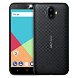 Ulefone S7 Smartphone Unlocked Android 7.0, Triple Camera 8MP+5MP+5MP, Quad Core MTK 6580 1.3GHz, Dual SIM, 5.0' Screen, 1GB RAM+8GB ROM, 2500mAh Battery, Cheap 3G SIM Free Mobile Phones (Black)