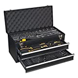 Siegen S01055 2 Drawer Portable Tool Chest with 90pc Tool Kit