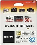 Sony 32GB Flash Memory Card - PRO Duo Card - MSHX32B