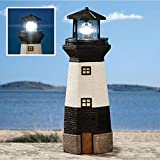 Large Lighthouse Solar Powered Led Motion & Light Garden Decoration Ornament / Gardening Garden Patio Stuff Items Gadgets Yard Lawn Garage Gloves Layout Landscape Plant Botanical Furniture Design Landscaping Vegetable Flower Container Front Back Home House Backyard Planning Small Large Modern Simple Gift Outdoor Outside Contemporary Unique Special Store Shop Green Herbs