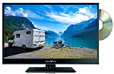 16' REFLEXION 12v 12 volt HD LED TV SATELLITE FREEVIEW DVD USB FOR CARAVAN BOAT