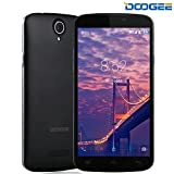 Mobile Phones Cheap, DOOGEE X6S 4G Dual SIM Unlocked Smartphones, 5.5 Inch HD IPS with Android 6.0 Phone - MT6735 Quad Core - 8GB ROM - 8.0MP + 5.0MP - MT6735 Quad Core - Long Standby Smartphone (Black)