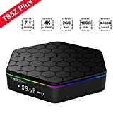 EASYTONE T95Z Plus Android TV BOX Amlogic Octa Core 2GB DDR3 16GB EMMC 2.4G/5G Dual Band WIFI 1000M LAN 4K 3D Bluetooth 4.0 Android 7.1 TV Box