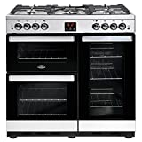 Belling 444444076 Cookcentre 90G 90cm Gas Range Cooker Stainless steel