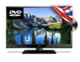 16' Ultra Slim LED Digital Freeview USB Record TV DVD. Caravan HGV Boat. 12/24 VOLT DC 12V + 240