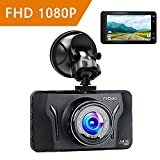 Mibao Dash Cam Car Cameras with Recorder Dashcam 1080p Dashboard Cameras Dash Camera for Cars 170°Wide Angel with 3.0 Inch LCD, G-Sense, WDR, 6GLens, Loop Recording , Motion Detection, Parking Monitoring