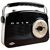 Bush WO251 Retro Mini FM Radio - Black