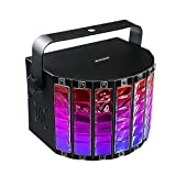 100-240V 18W Disco Stage Lights 9 Leds DJ Lights Karaoke Machine Built In U Disk SD Card Bluetooth With Remote Control RGB Effect Stage Lighting For Party Wedding Birthday Club Holiday Color Changing Lighting