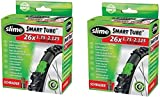 2 x Slime Bike Inner Tubes 26 x 1.75-2.125 Mountain Bikes Schrader Valves - Slime Filled To Instantly Seal And Repair Punctures