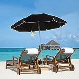 Marko Outdoor Beach Umbrella Garden Outdoor Patio Tilting Tilt Parasol Sun Shade Protection