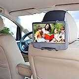 WANPOOL Car Headrest Mount Holder for Portable DVD Player, fit Swivel Screen & Standard Laptop Style Portable DVD Player