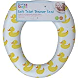 Boys & Girls Soft Cushioned Toilet Trainer Seat (Rubber Ducks)