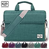 Rawboe LT-SURF-13.3-GRN Laptop Bag 13-13.3 inch Oxford Fabric Portable Laptop Sleeve Case for Men/Women Messenger Bag for Apple MacBook Air /Surface Pro 4 /Notebook with Shoulder Strap and Multiple Pockets - Green