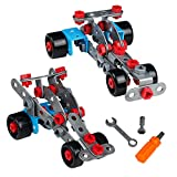 Building Assembly Kit 2 in 1 Racing Sport Cars Model Toy Cars Take Apart 110 Pcs Building Blocks for Children 3+