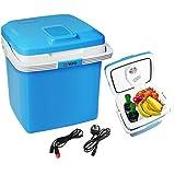 a8245bca599 Vivo 26L Electric Coolbox Cooler Hot Cold Portable Cool Box Car Home 240V AC    12V