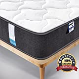 Inofia UK King Mattress 5FT Mattress 3D Breathable Fabric Mattress with Pocket Springs/7-Zone Support System/8.7 Inch Depth (100 Night Test at NO Risk)